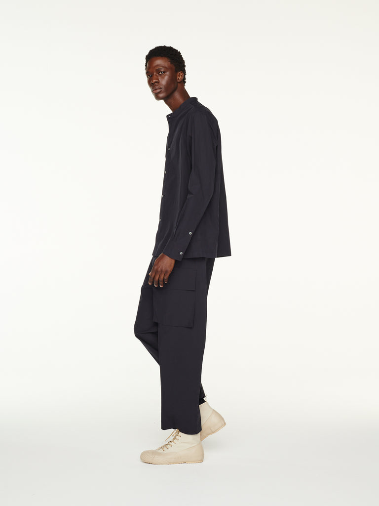 Rosario Pant in Dark Navy