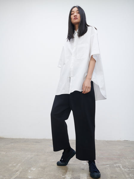 Rocha Shirt In Optic White - Studio Nicholson