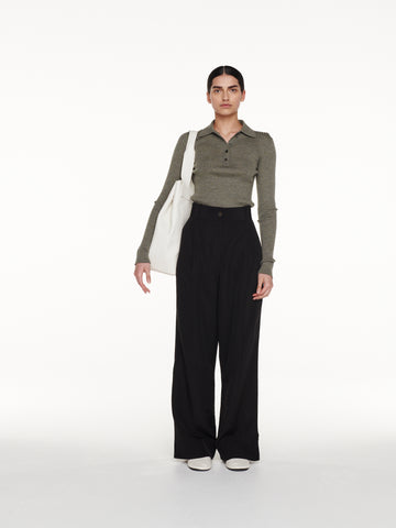 Seymour Pant in Black