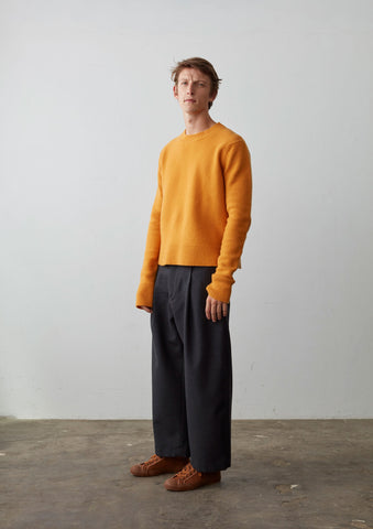 Shag Knit In Yolk