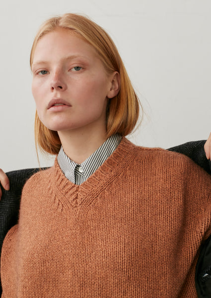 Shop Knit In Nectarine