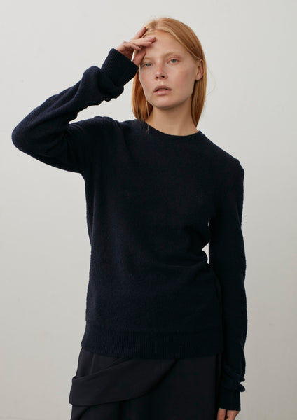 Shoto Cashmere Knit In Navy
