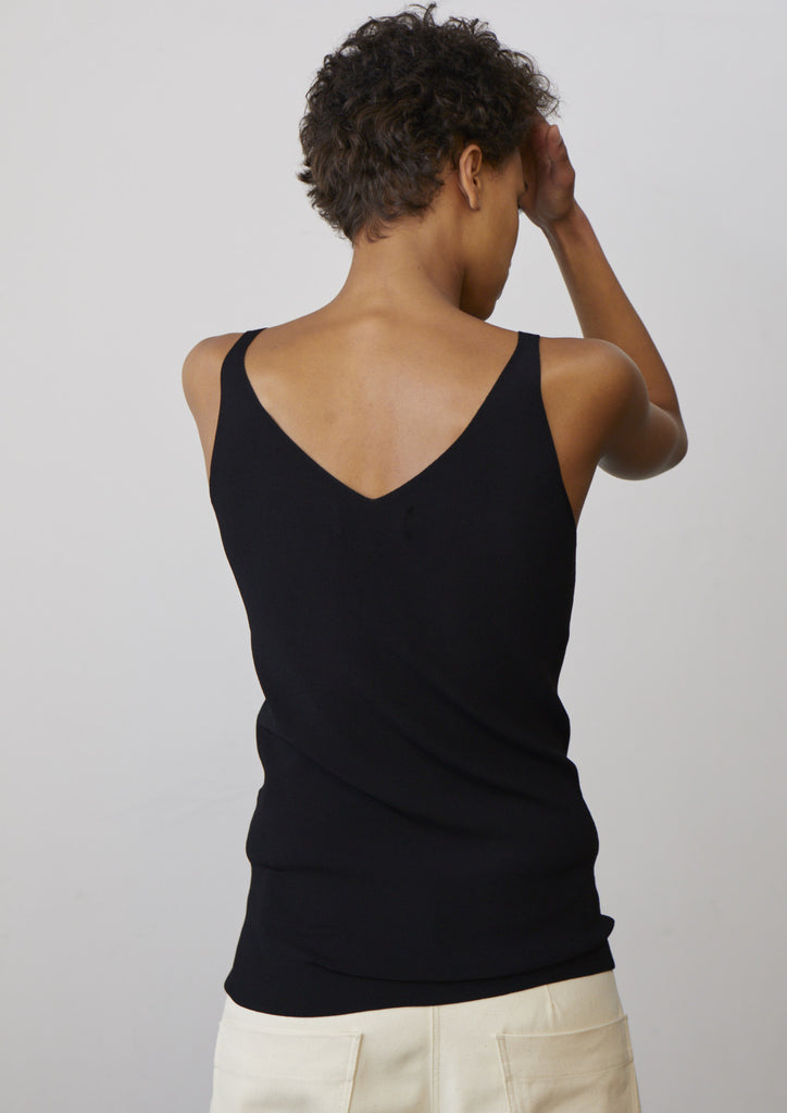 Gianni Vest In Black - Studio Nicholson