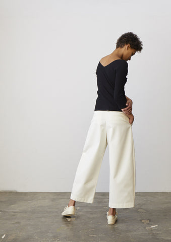 Bonnard Pant In Ivory