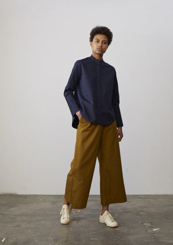 Battista Pant In Carob