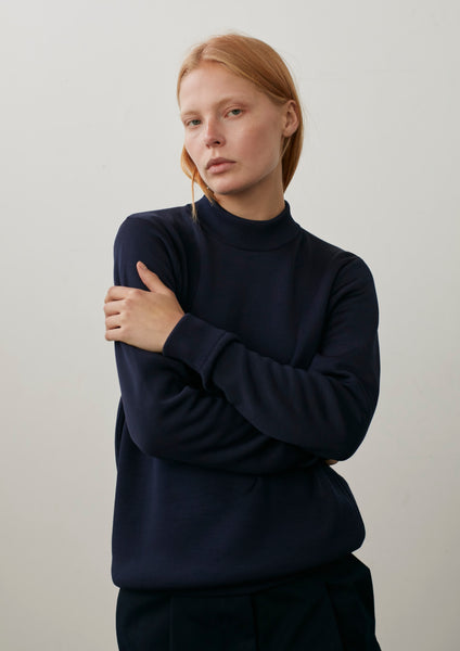 Studio Knit In Navy