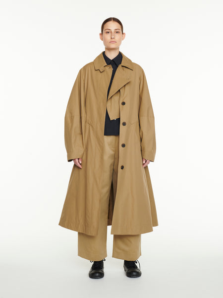 Tadao Coat In Almond