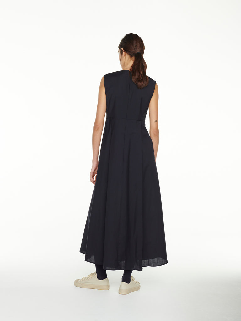 Teatrino Dress In Dark Navy