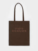 Studio Nicholson Small Tote Bag in Chocolate Truffle