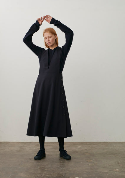 Tardani Dress In Dark Navy
