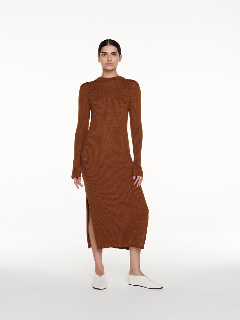 Vico Dress in Tobacco