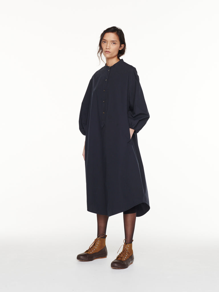 Villeroy Shirt Dress in Dark Navy