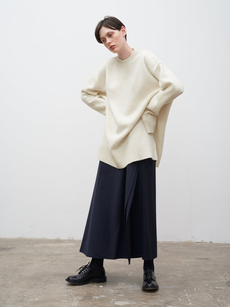 Yocto Oversize Knit In Ecru