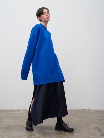 Yocto Oversize Knit In Klein Blue