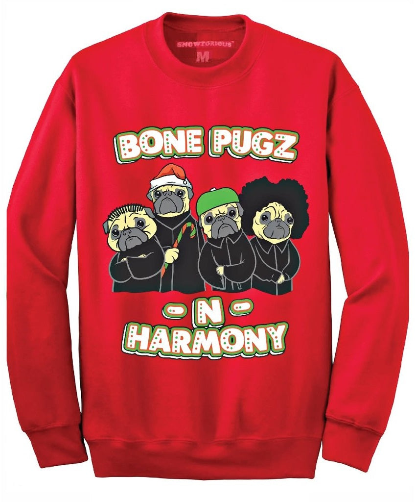 Snowtorious ® Ugly Christmas Sweater - Red