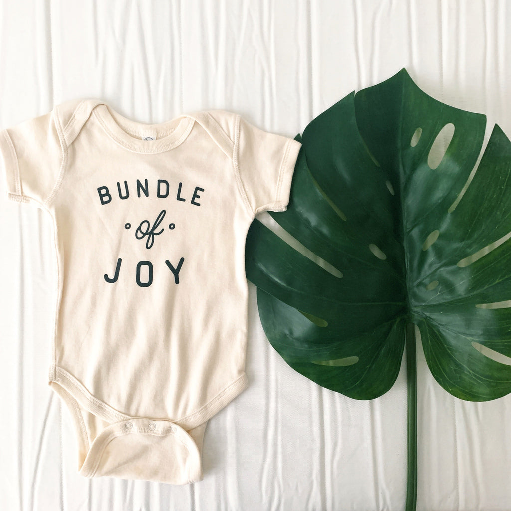 Bundle of Joy Onesie by The Oysters Pearl