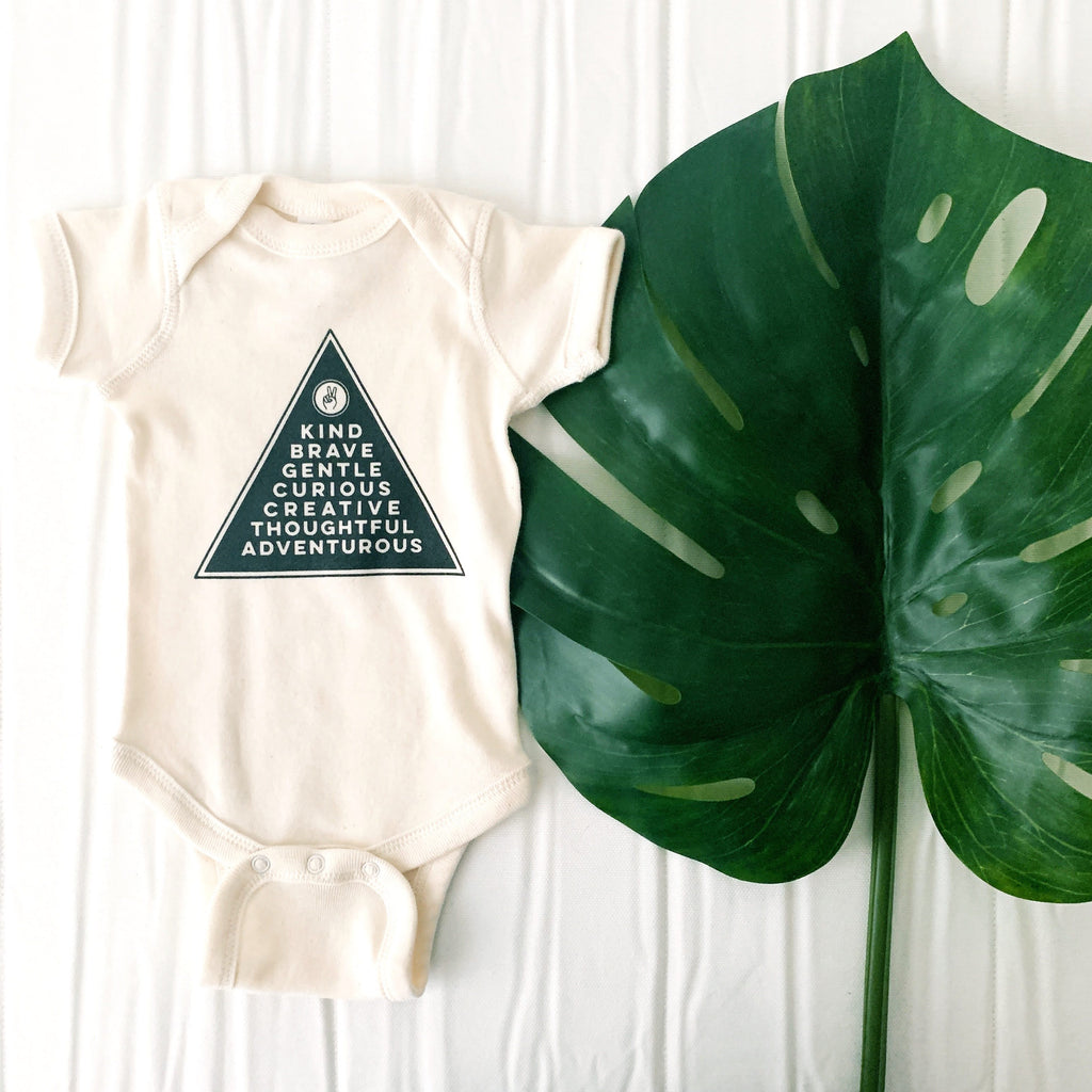 Kind Onesie by The Oysters Pearl