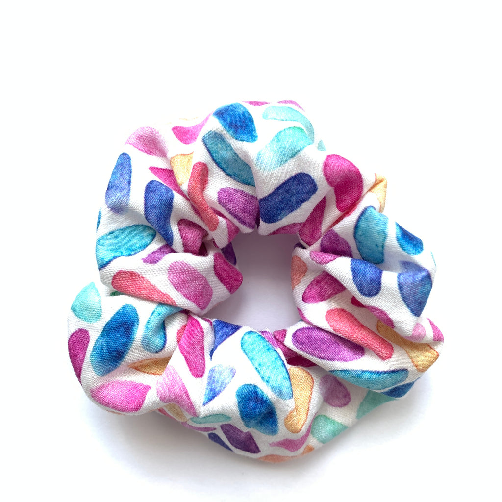 Scrunchie - Mosaic Watercolor