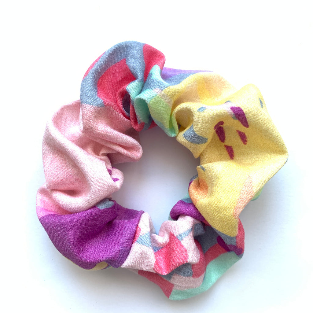 Scrunchie - Abstract Paint