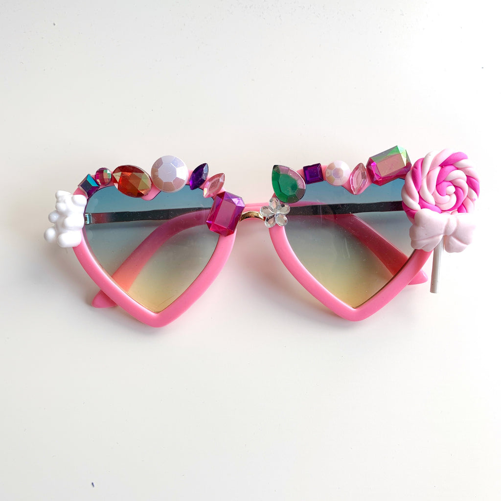 Candy Love Heart Sunglasses
