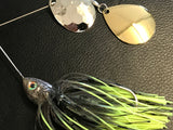 Spinnerbait - Shad Head - Double Colorado -  Hot Mouse - 911CustomLures.com