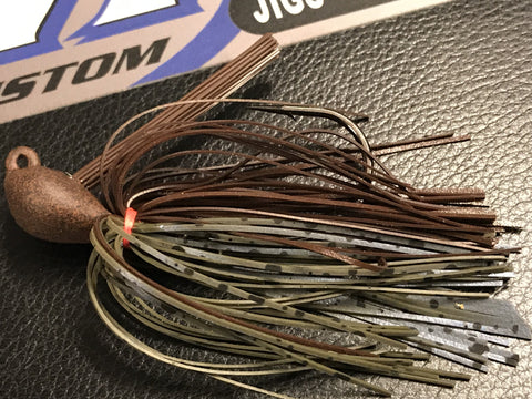 Skippin Jig - Creek Craw - 911CustomLures.com