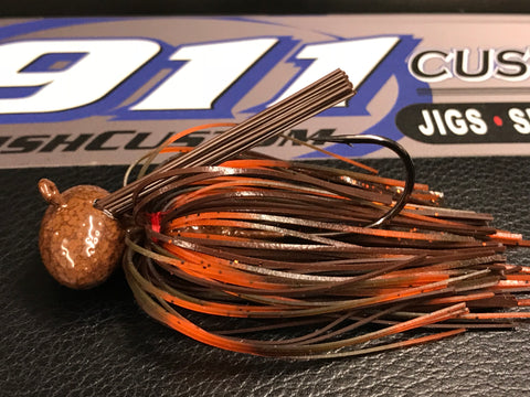 Heavy - FB Jig - 3/4oz - 704 Outdoors Hog Snatcher - 911CustomLures.com
