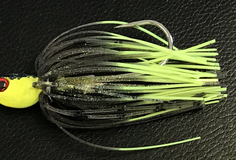 Spinnerbait - Hidden Weight - Double Willow - Hot Mouse - 911CustomLures.com