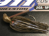 Skippin Jig - GP Blue Swirl - 911CustomLures.com