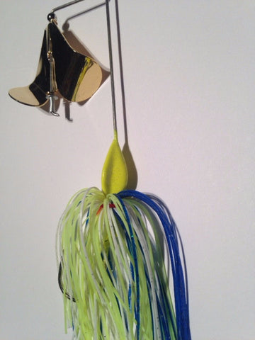 BuzzBait - Cal's Magic - Gold Blade - 911CustomLures.com