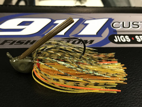 Swim Jig - ProSwim - 911 Perch - 911CustomLures.com