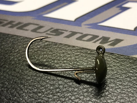 Mushroom Jig Head - Premium Owner Hooks - 3pk - 911CustomLures.com