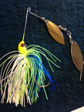 Spinnerbait - Shad Head - Tandem - Cal's Magic - 911CustomLures.com