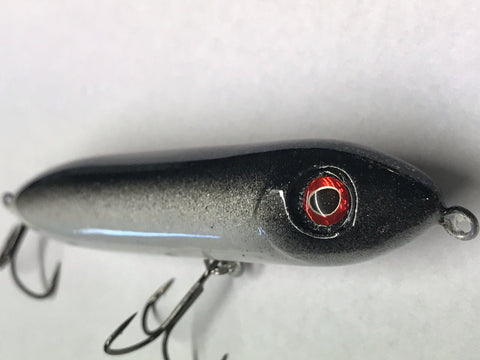 "Topwater - Spook Jr KO 4"" - River Shad - 911CustomLures.com"