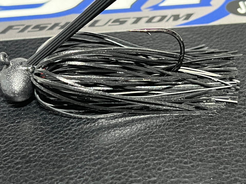 Spinnerbait - Hidden Weight - Tandem - White - 911CustomLures.com
