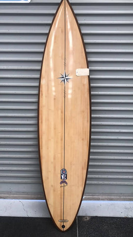 "Bamboo Wayne Lynch ""Freeform"" 6'9 (Collectors Edition)"