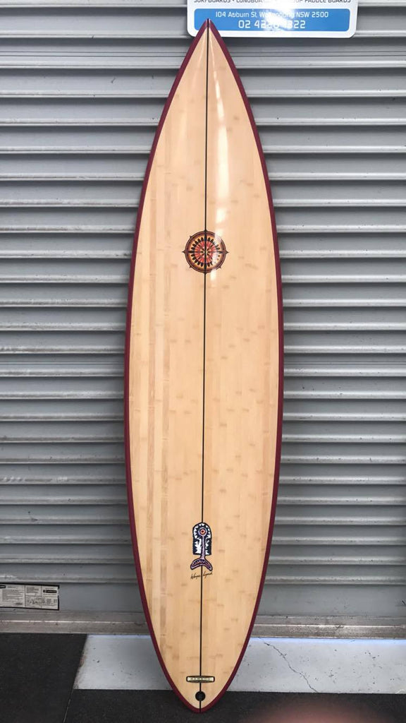 Bamboo Wayne Lynch Hybrid 6'8 (Collectors Edition)