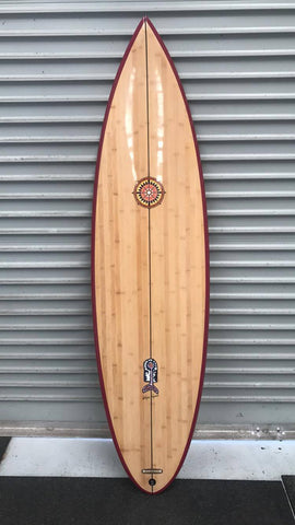 Bamboo Wayne Lynch Hybrid 6'4 (Collectors Edition)