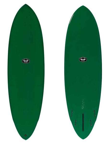 "CJ Nelson Surfboards - 7'0"" Music Hybrid Fun Shape Surfboard / Full XEON Fiberglass"