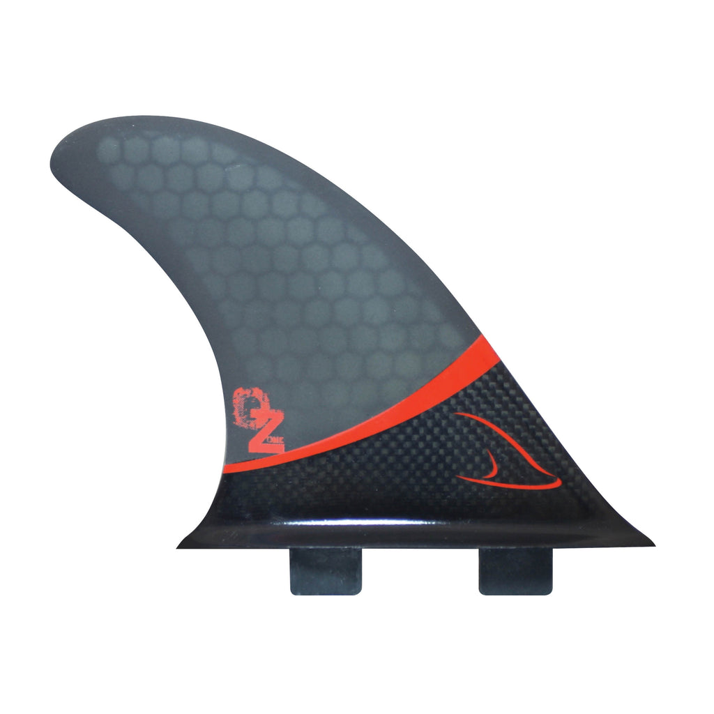 Tri Fins Glass Carbon - Grey