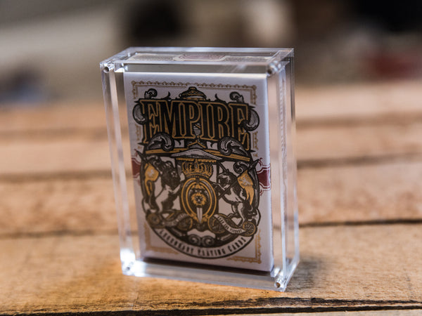 Empire Playing Cards (1st Edition, Red/Gold)