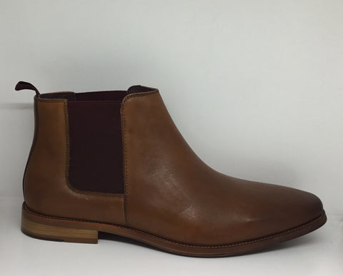 Julius Marlow Phrase Cognac Leather Boot
