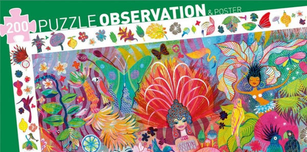 Djeco Carnival Observation Puzzle 200 pieces age 6 plus