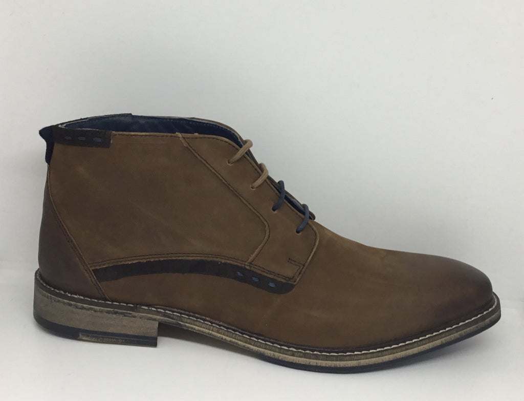 Julius Marlow Wolf Mocca Leather Mens Shoe