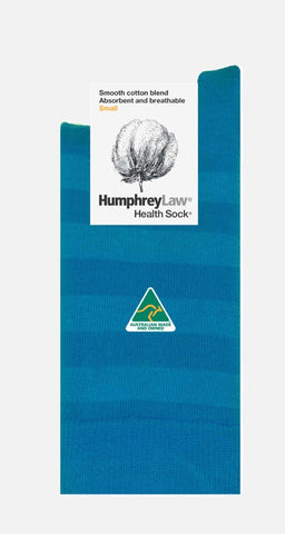 Humphrey Law Health Socks Blue