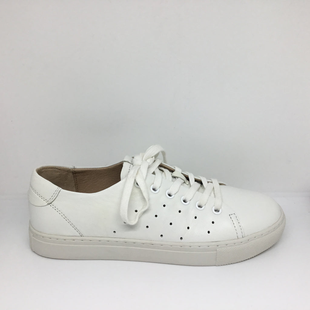 Miss M Pixie White Leather sneaker