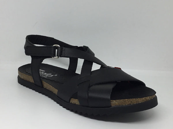 Trisoles Fargo 674 Black Leather