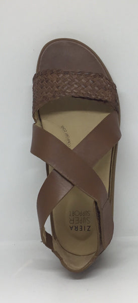 Ziera Izzy Tan Leather Sandal BEST SELLER