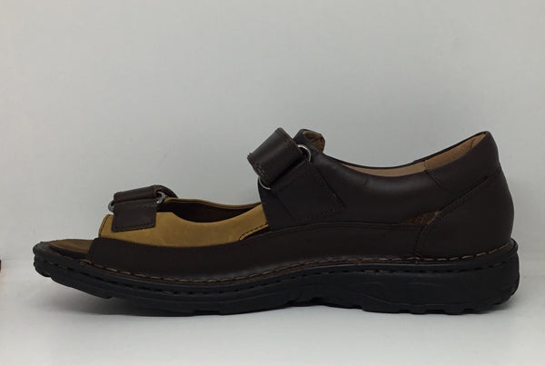 Klouds James Dark Brown Leather Orthotic Friendly