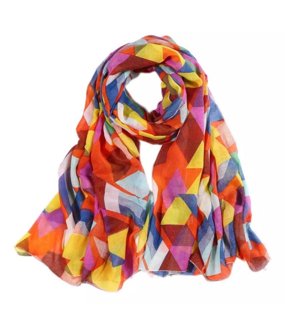 Greenwood Design Bright Multi Scarf SOLD OUT